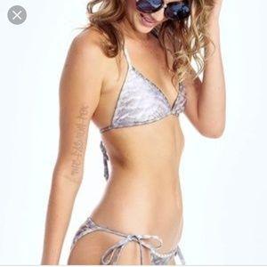 Wildfox New Skin two-piece bikini bathing suit S